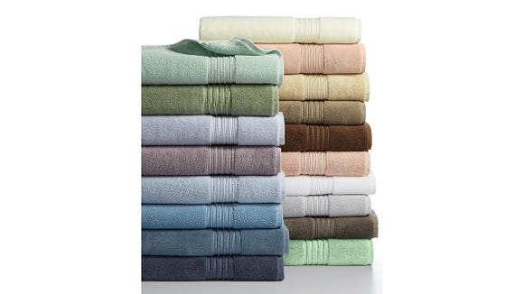 The Hotel Collection Turkish Bath Towels come in a ton of colors.