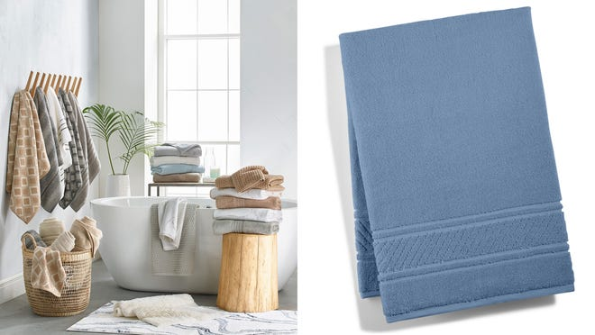 Bath Towels Are Majorly Discounted At Macy S Right Now