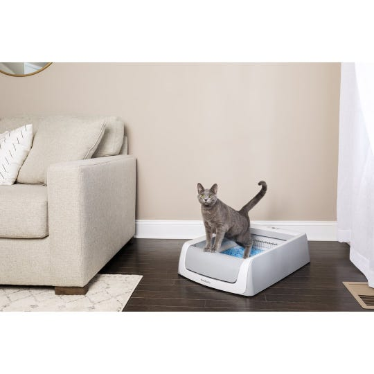 Cleaning the litter box is no fun. But the ScoopFree Self-Cleaning Litter Box ($139.85) from PetSafe does a lot of the dirty work for youe.
