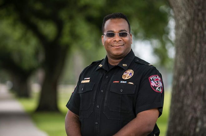 New Nicholls Police Chief Alex Barnes