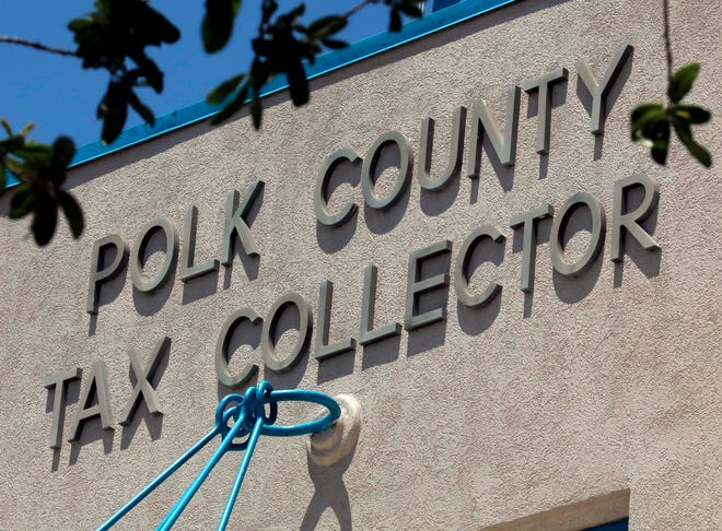 Polk County Tax Collector's Office. [PIERRE DUCHARME/THE LEDGER]