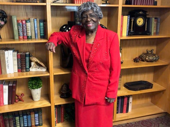 Naomi Heights Nursing Home Resident, Martha Barber, celebrated her 104th birthday on Aug. 6.