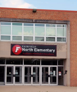 Children in the Fairfield Schools, including those at  Fairfield North, will be going to school two days a week when classes resume later this month.