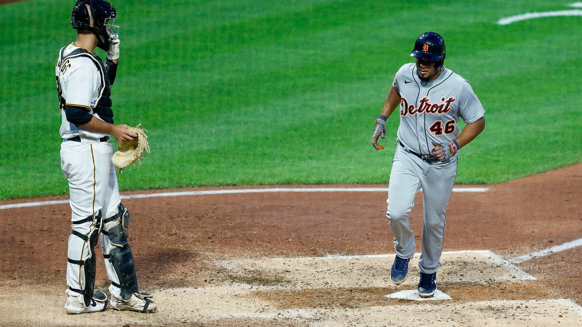 Jeimer Candelario showed up when the Detroit Tigers needed him most