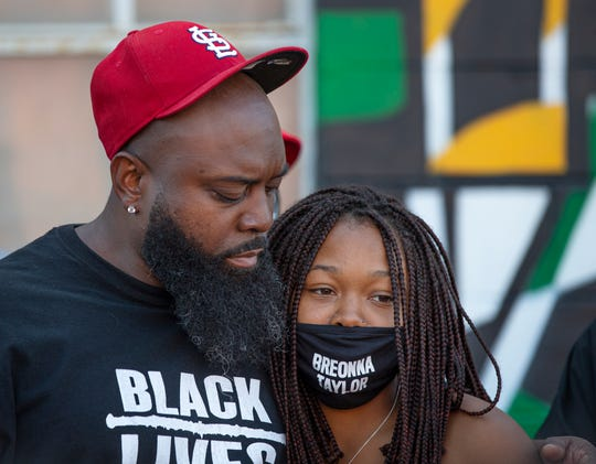 Louisville protests: Michael Brown Sr. visits for Breonna Taylor rally