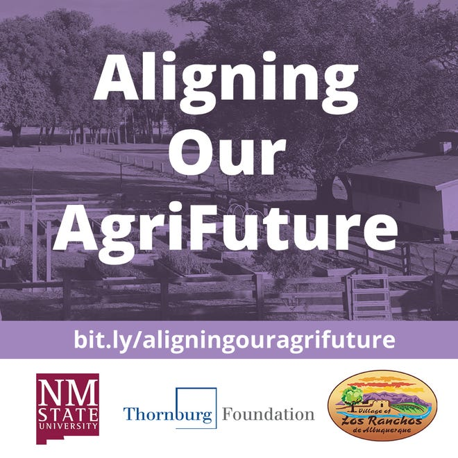 New Mexico State University working with the Village of Los Ranchos to facilitate the Aligning Our AgriFuture project.