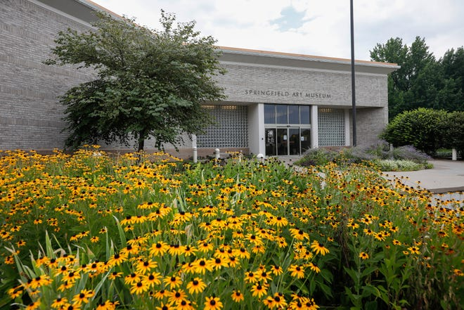 The Springfield Art Museum is located at 1111 E. Brookside Dr.