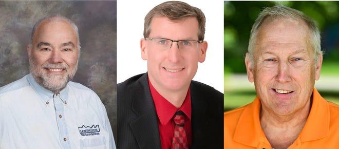 Leigh Lenzmeier, Jeff Johnson and Darrell Bruestle