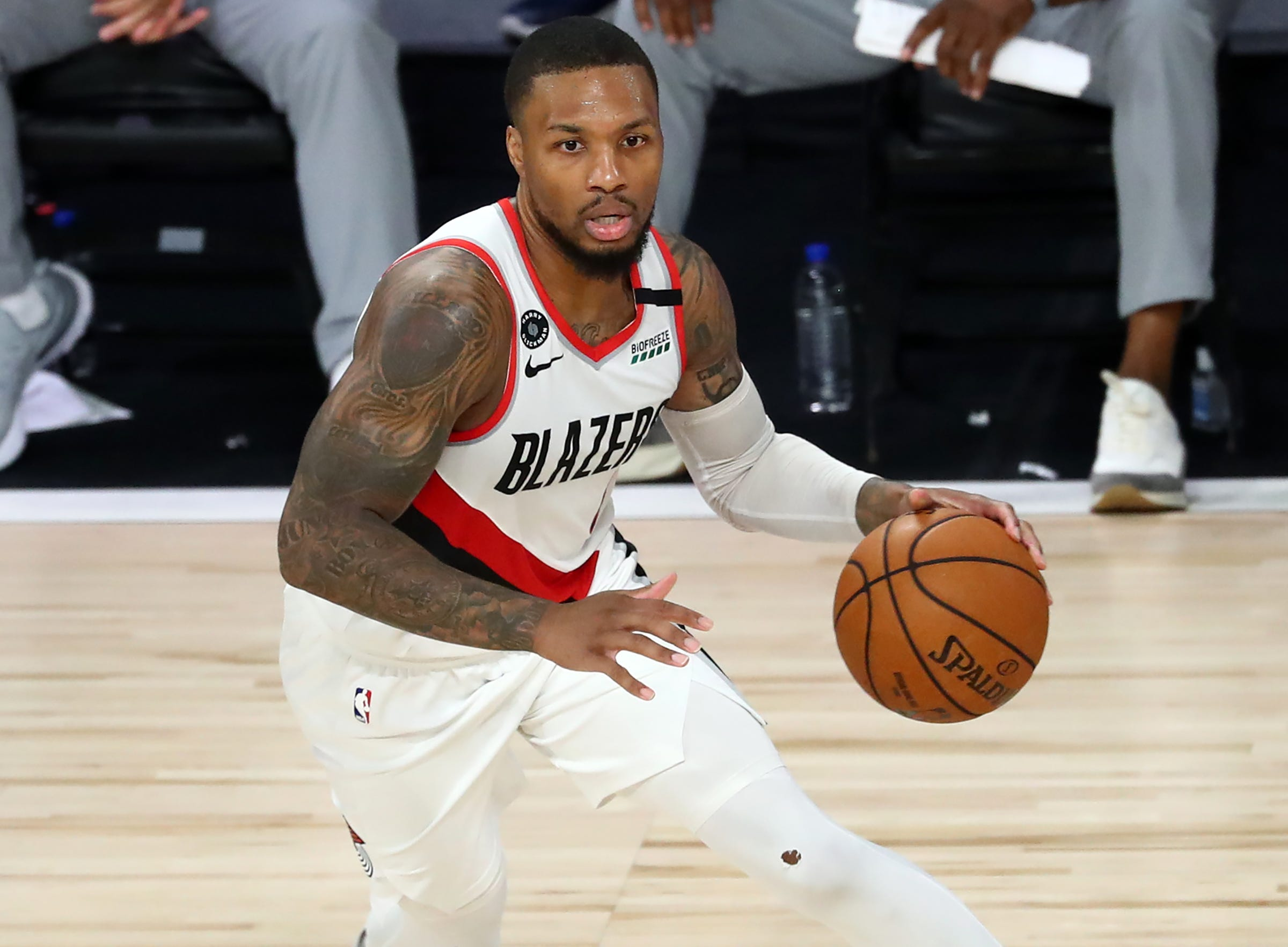 Blazers  Damian Lillard claps back at Clippers  Patrick Beverley and Paul George for taunts