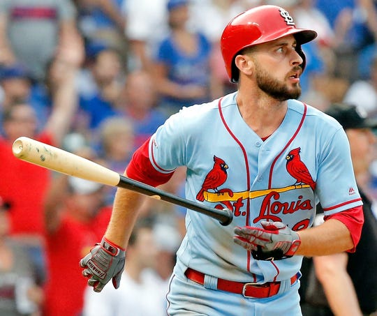 Paul DeJong is one of nine Cardinals players to test positive for the coronavirus.