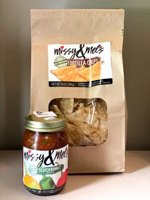 MIssy & Mel's chips and salsa