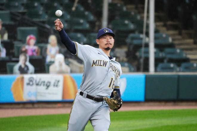 Keston Hiura had last been optioned to Nashville on July 30, contracted COVID-19 and returned to action on Aug. 17.