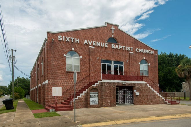 Sixth Avenue Missionary Baptist Church at 1120 N. Sixth Ave. is pictured Sunday.