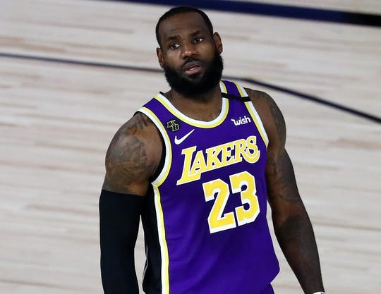 LeBron James and the Lakers dropped 2-4 in their NBA season reboot.