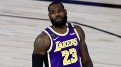 LeBron James and the Lakers dropped to 2-4 in the NBA season restart.