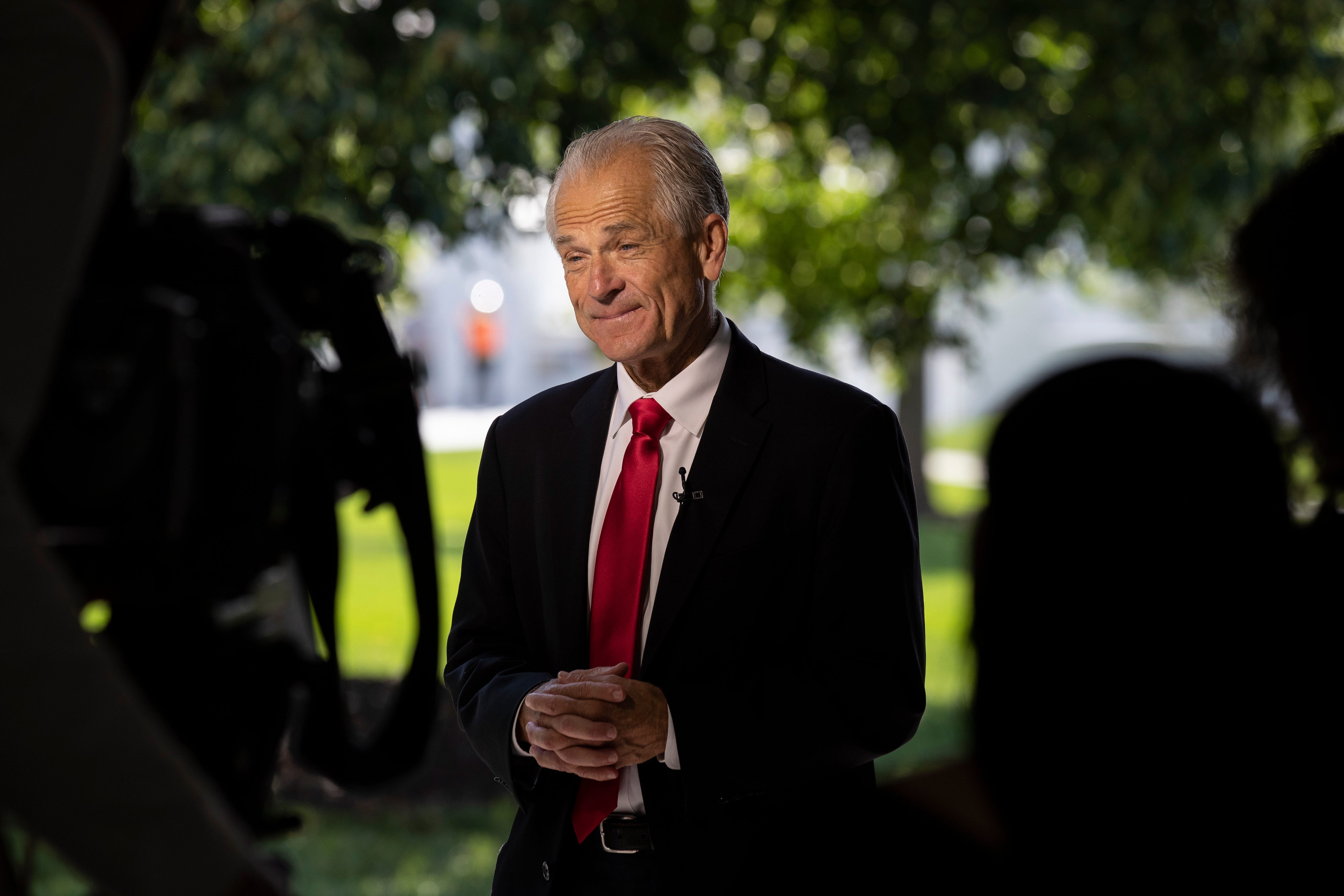 The Lord and the Founding Fathers created executive orders,  says Peter Navarro in defending Trump orders