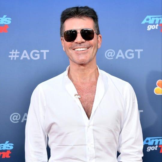 """America's Got Talent"" host Simon Cowell."