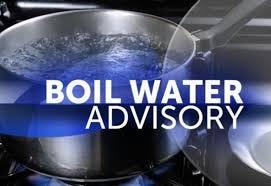 Water boiling advisory