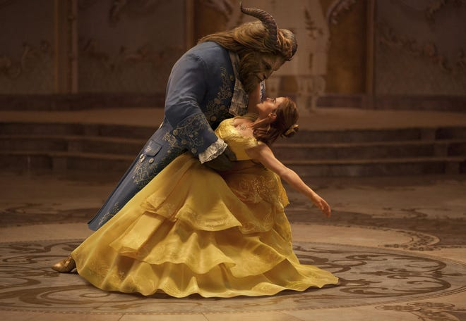 "Dan Stevens and Emma Watson star in 2017's ""Beauty and the Beast."" [Disney]"