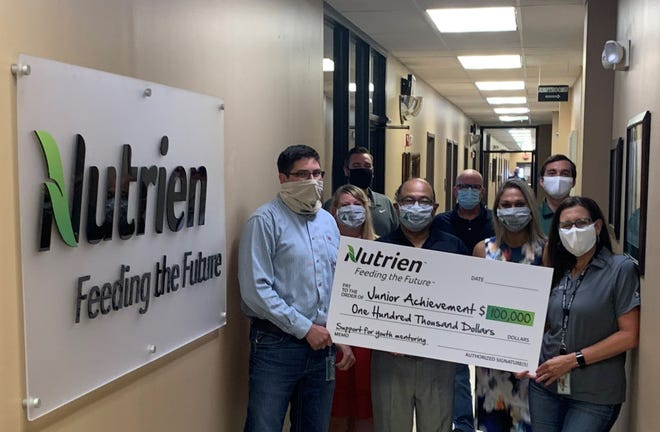 Nutrien recently committed $100,000 over three years to support Junior Achievement curriculum and mentoring in Ascension and Iberville schools.