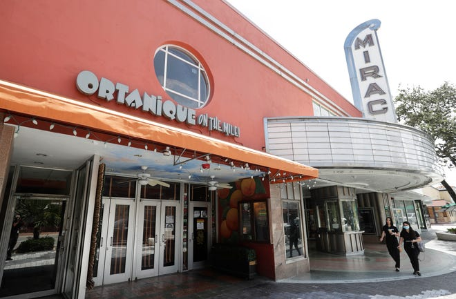 "The Ortanique On The Mile restaurant is shown in Coral Gables. Like many other iconic independent bars and restaurants around the country, it is likely closing its doors for good because of the economic fallout from the coronavirus. ""Now, with deep regret and pain, we recognize it is impossible to continue in this current environment,"" Ortanique's owners said in a statement posted online, adding they are ""so bitter that COVID-19 has taken down a Coral Gables institution."" [WILFREDO LEE/THE ASSOCIATED PRESS]"