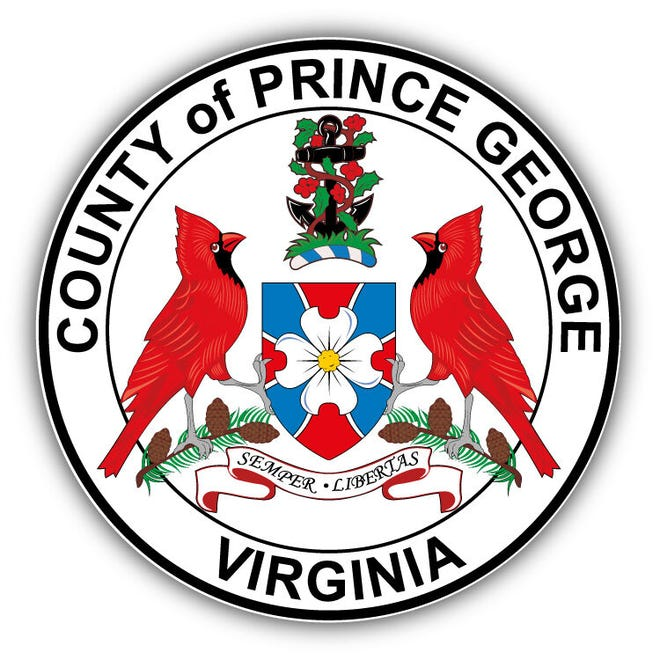 The Prince George County seal.