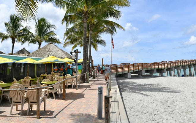 "Sharky's on the Pier in Venice is one of about a dozen local restaurants to receive The Florida Restaurant & Lodging Association Seal of Commitment, the organization's ""highest designation for hospitality safety and sanitation standards."""