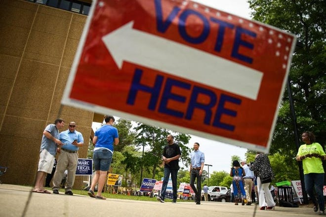 Registered unaffiliated or Republican voters are being sought to work on Election Day and during early voting.