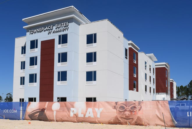 Officials report that local law enforcement responded to a stabbing on Saturday at the TownePlace Suites by Marriott. [NATHAN COBB/THE NEWS HERALD]