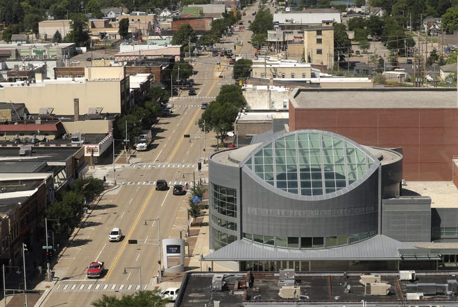 The Fox Cities Performing Arts Center, photographed Friday, August 7, 2020, in Appleton, Wis.