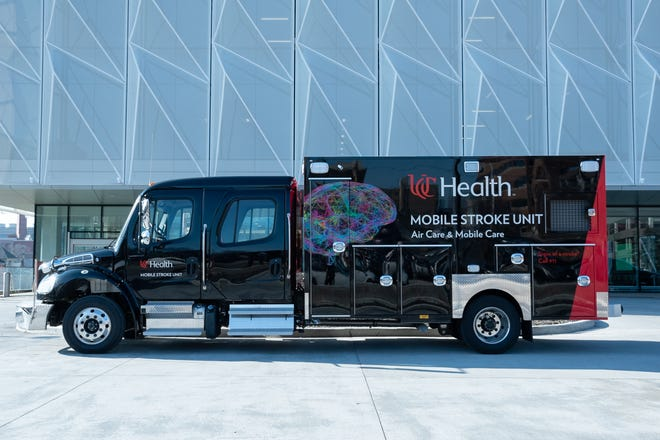 UC Health's new mobile unit devoted to stoke care rolls out for the first time Agu. 11 from Springfield Township. The goal is to bring clot-busting drugs to patients sooner.