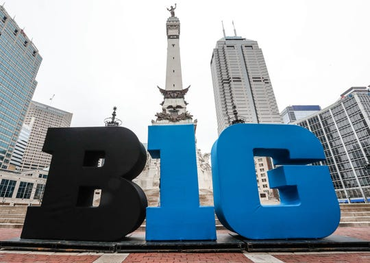Big Ten logo.