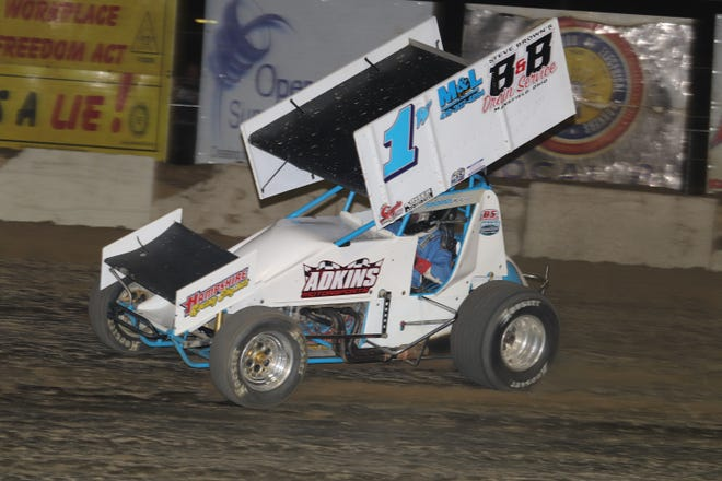 Paul Weaver earns his 55th career win Saturday at Fremont Speedway;