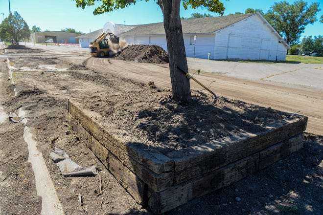 Maintenance and improvement work is underway at Montana ExpoPark.  Since COVID-19 canceled the2020 State Fair and postponed a host of other popular events the county is taking advantage of the limited use of the fairgrounds in 2020 to fix up ExpoPark.