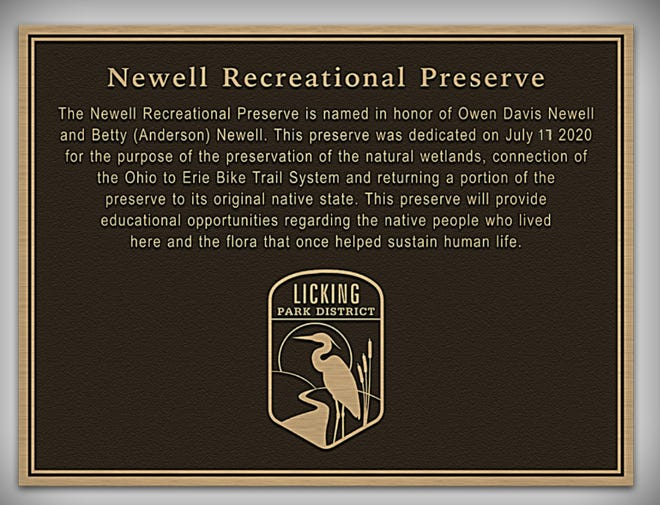 The Newell Recreation Preserve was formally dedicated on July 17, 2020