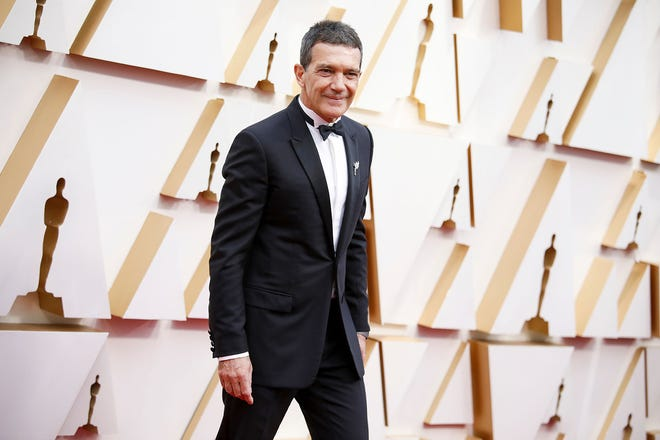 Antonio Banderas arrives at the 92nd Academy Awards on Sunday, Feb. 9, 2020, at the Dolby Theatre at Hollywood & Highland Center in Hollywood.(Jay L. Clendenin/Los Angeles Times/TNS)