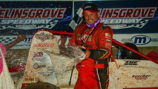Shane Cottle won his first United States Auto Club Silver Crown race in nearly 13 years in Sunday night's Bill Holland Classic at Selinsgrove Speedway.