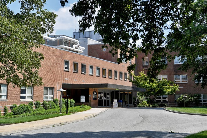Developer Burkentine Builders & Sons has filed a zoning application to convert the former Memorial Hospital into a multi-story apartment complex, Monday, August 10, 2020.John A. Pavoncello photo