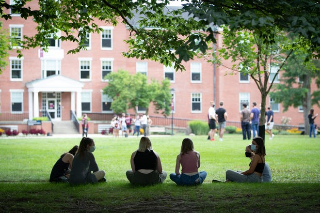 Students at Earlham College.