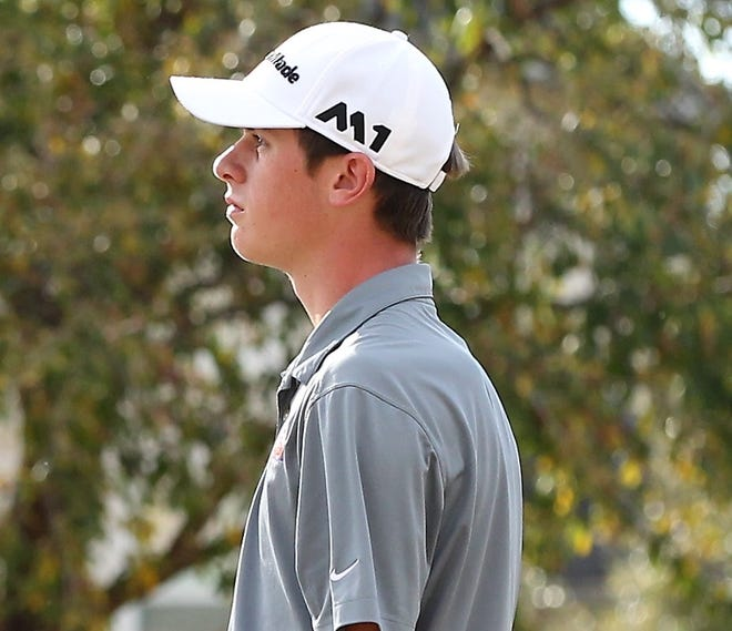 San Angeloan Jansen Smith, pictured in a 2018 photo, is making his third appearance in four years at the U.S. Amateur in Bandon, Oregon this week.