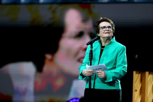 50 years ago, Billie Jean King and other women pros boycotted a tennis tournament and started their own to spark change