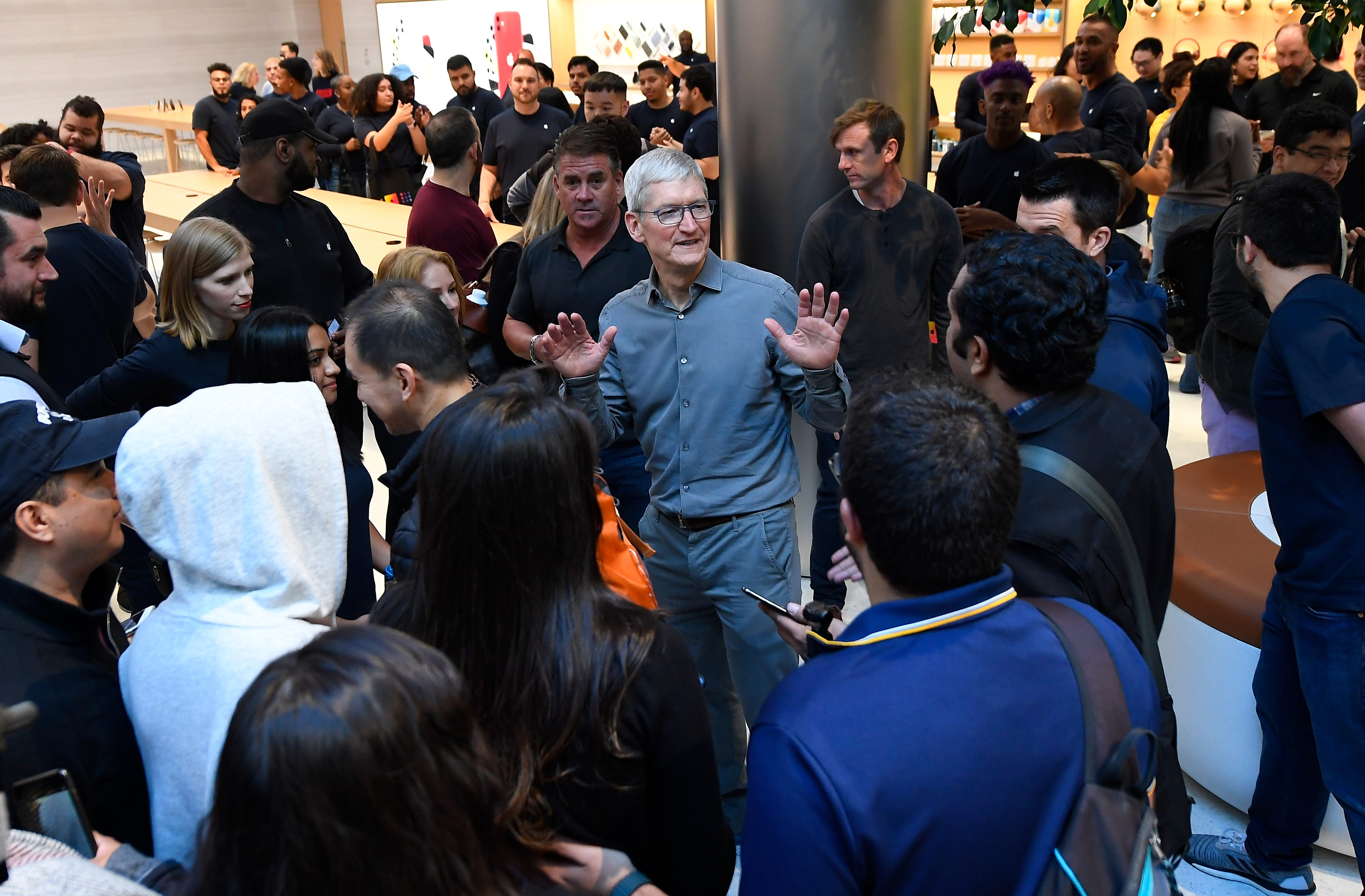 """""""We're taking significant new steps on diversity and inclusion within Apple,"""" says Apple CEO Tim Cook."""
