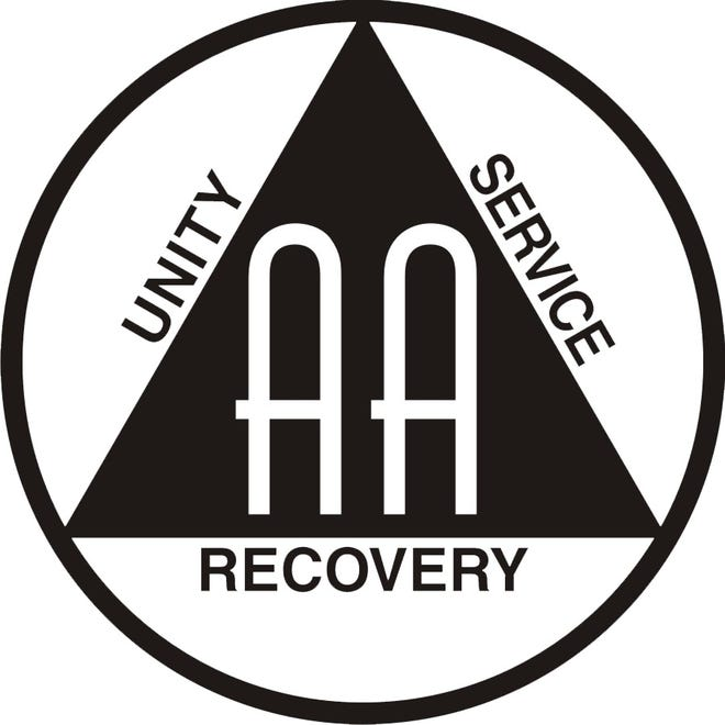 The logo of Alcoholics Anonymous