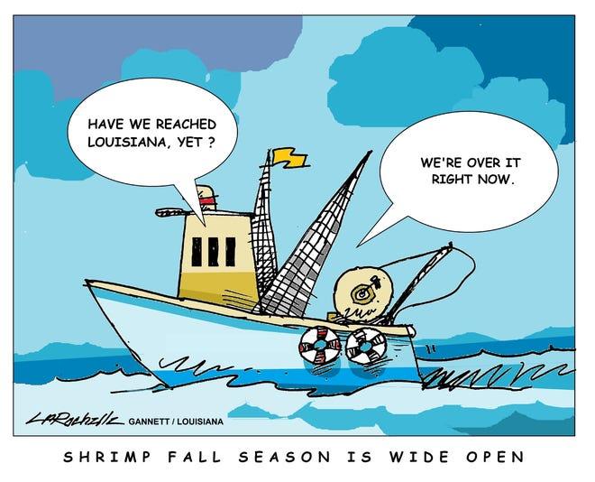 Louisiana editorial cartoon