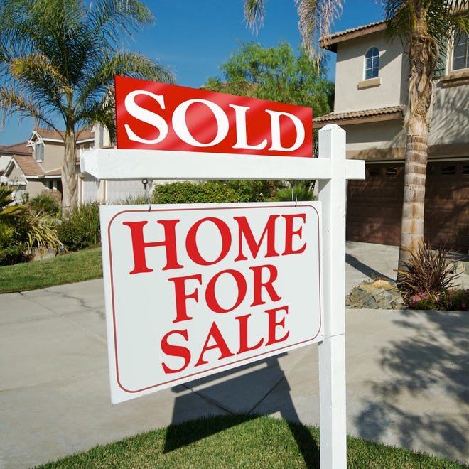 Single-family home and condo sales.