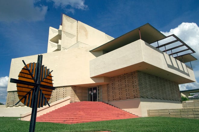 The famed Annie Pfeiffer Chapel on the campus of Florida Southern University. [FILE PHOTO/THE LEDGER]
