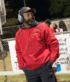 Justin Joseph takes over this season as head coach of the East Iberville football team.