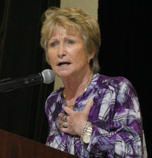 """Donaldsonville native Sara """"D-D"""" Breaux announced last week she would retire after 43 years as LSU's gymnastics coach."""