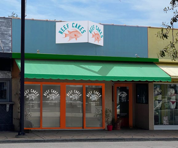 Reef Cakes is opening in Sarasota's Southside Village neighborhood.  [PROVIDED PHOTO]