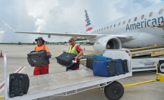 Sarasota Bradenton International Airport (SRQ) passenger traffic saw an increase of 18% from 52,845 passengers in June to 62,405 passengers in July. Compared to July of 2019, traffic at SRQ is down 57.6%.